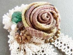 画像3: 薔薇のコサージュ