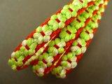 ぷっくりお花の三分紐