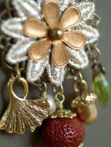菊花 帯飾り